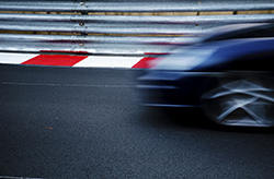Performance Racing Alloy - Blurred Car on Track